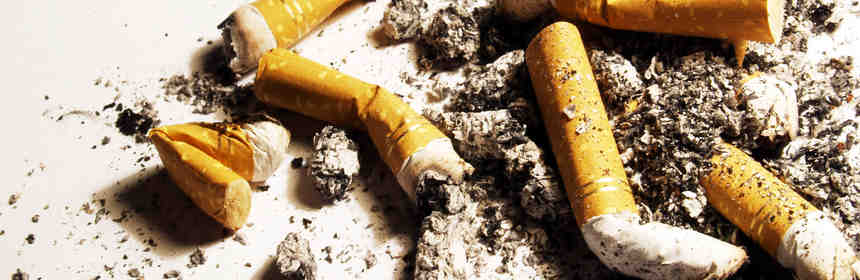 nicotine from tobacco